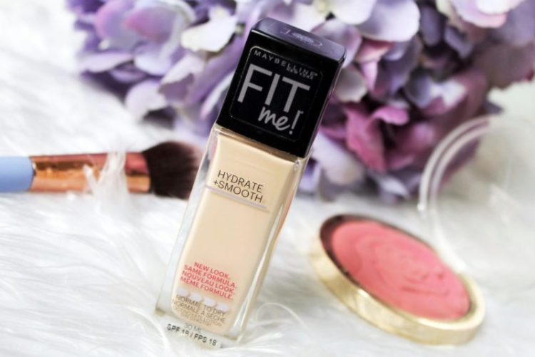 Maybelline Fit Me Hydrate Smooth Foundation Review Blush Pearls