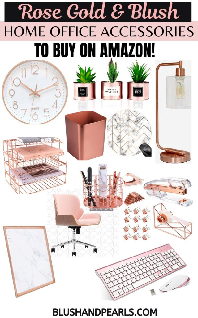 Rose Gold Home Decor On Amazon The Complete Guide Blush Pearls,Pinterest Home Decorations