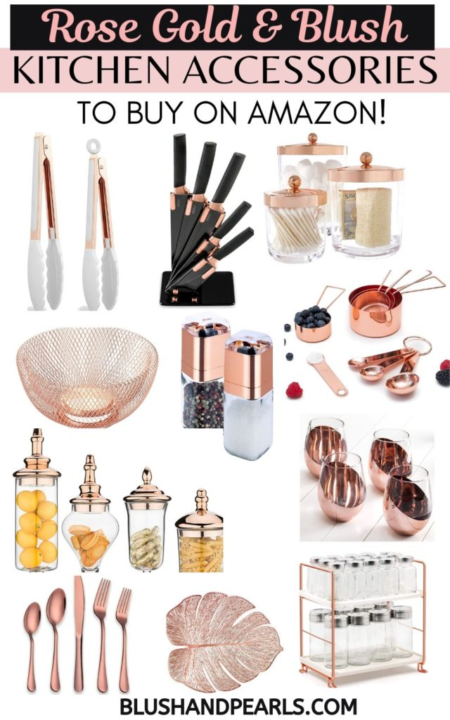Rose Gold Home Decor On Amazon The Complete Guide Blush Pearls